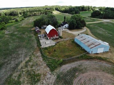 65 acre Farm on Fox River