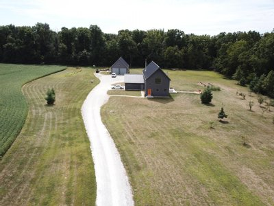 Modern Farm House, 35 Acres, Oak Hill Schools, Converse, IN