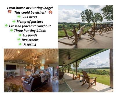 Farm house or hunting lodge!
