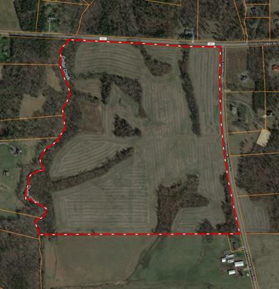 106.76 open clean acres in Mocksville, Davie County